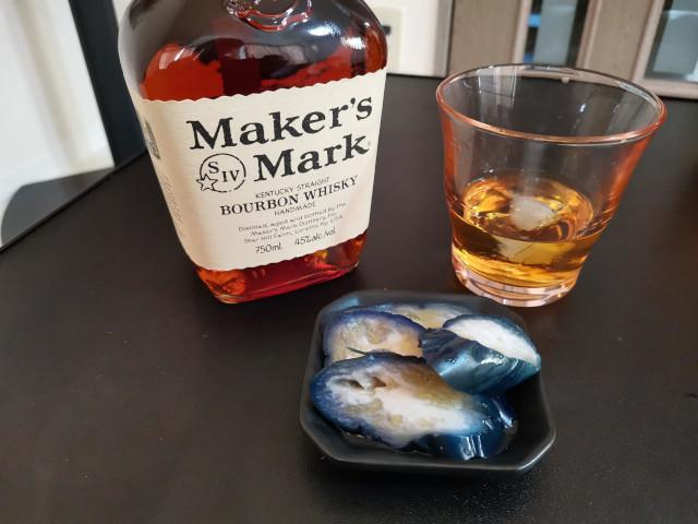 漬物とウイスキー