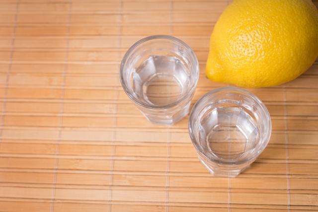 レモンサワーの作り方4