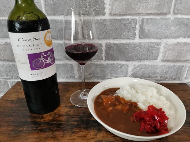 お酒とカレーのペアリング_赤ワイン
