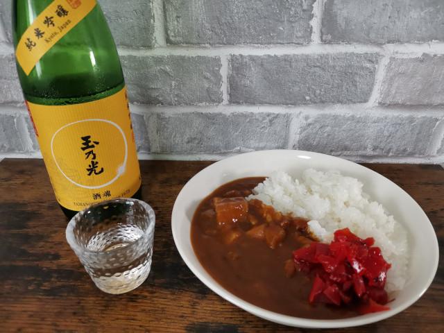 お酒とカレーのペアリング_日本酒